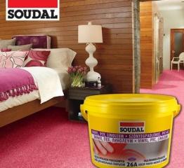 Клей для напольных покрытий Soudal